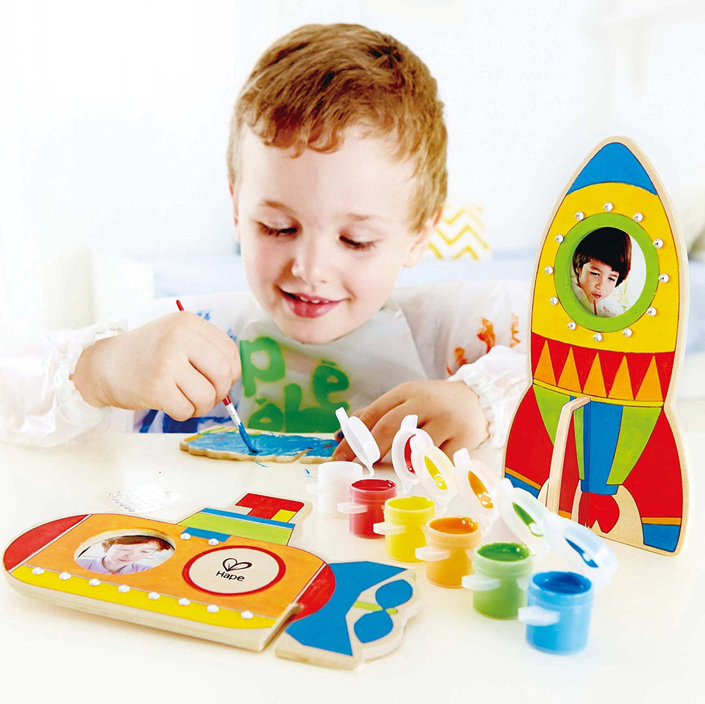 Space Voyage Arts and Crafts Kit By Hape - Bloxx Toys - Toronto Online Toys Store - 1