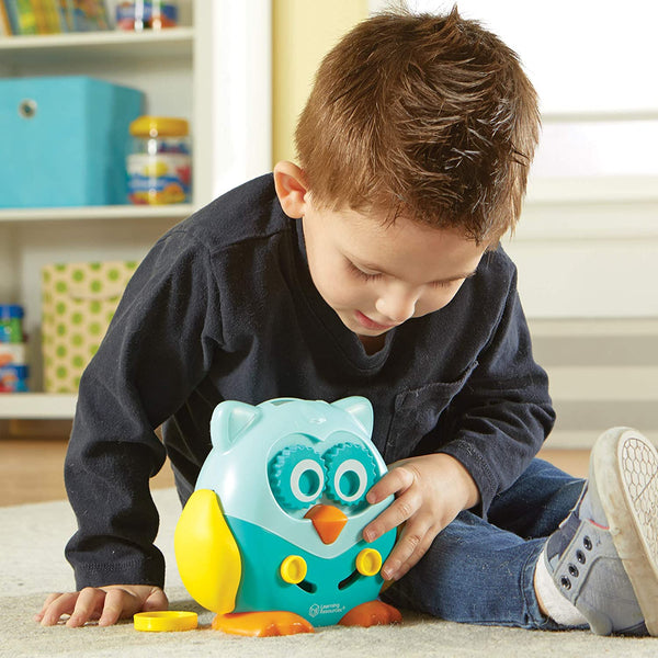 Hoot The Fine-Motor Owl By Learning Resources -Bloxx Toys-Toronto toys, toy,Autism Toys Montreal toys, Alberta toys, Ontario toys, Quebec toys, Children Toys,Kids Toys,Educational toys Online Toys Store Canada