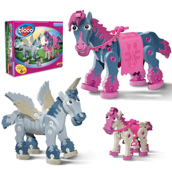 Horses & Unicorns Foam Building Blocks By Bloco - Bloxx Toys - Toronto Online Toys Store - 2