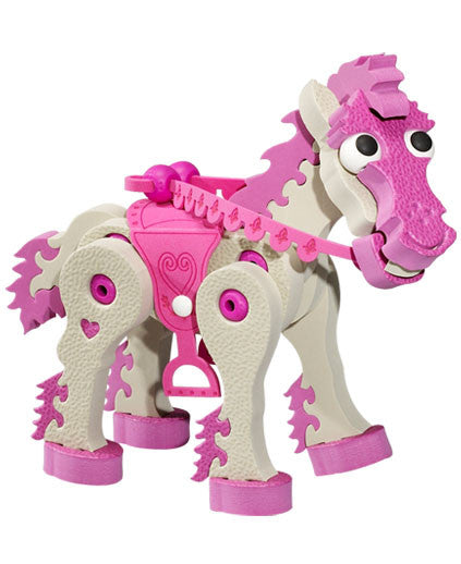 Horses & Unicorns Foam Building Blocks By Bloco - Bloxx Toys - Toronto Online Toys Store - 3
