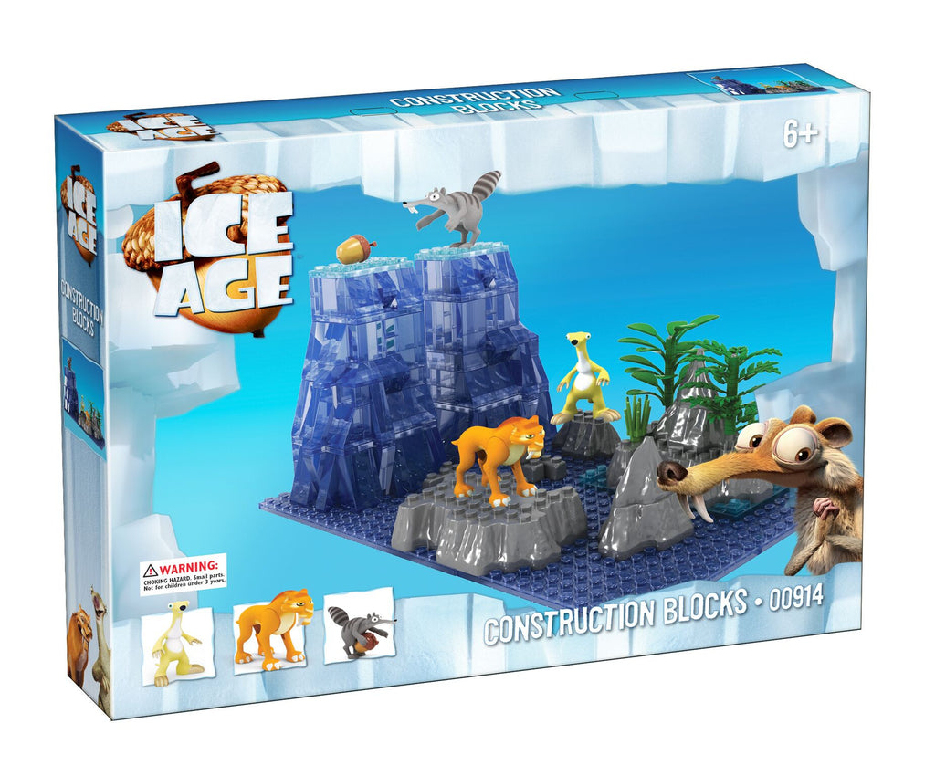 Toys From Ice Age 1 : Brictek ice age sid diego scrat bloxx toys