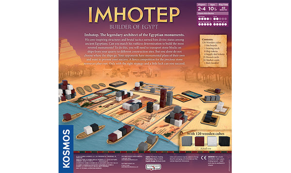 IMHOTEP BUILDER OF EGYPT - Bloxx Toys - Toronto Online Toys Store - 2