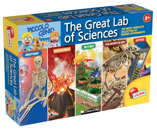 I'm a genius The great science laboratory By Lisciani  BloxxToys