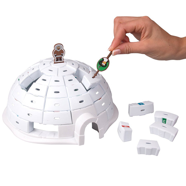 Igloo Mania Construction Game By Outset - Bloxx Toys - Toronto - Educational Online Toys Store Canada