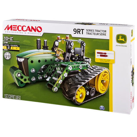 John Deere Tractor 9RT By Meccano - BloxxToys Canada