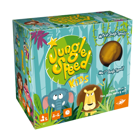 Jungle Speed Kids Cards Memory Game  By Foxmind