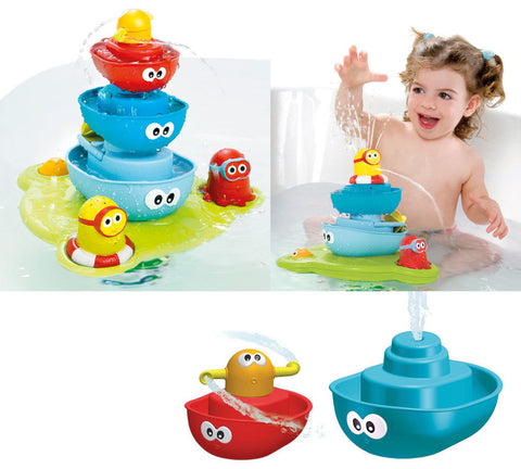 Stack 'n' Spray Tub Fountain - Bloxx Toys - Toronto Online Toys Store - 1