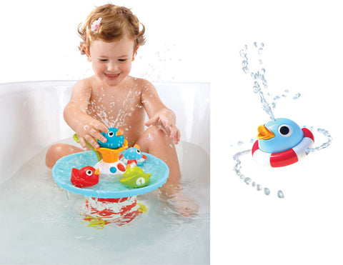 Musical Duck Race Bath Toy - Bloxx Toys - Toronto Online Toys Store - 1