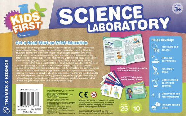 KIDS FIRST SCIENCE LABORATORY - Bloxx Toys - Toronto Online Toys Store - 2