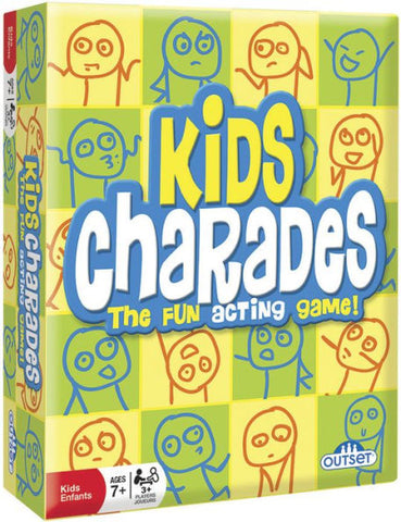 Kids Charades Party Game By Outset