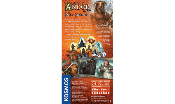 LEGENDS OF ANDOR: NEW HEROES - Bloxx Toys - Toronto Online Toys Store - 2