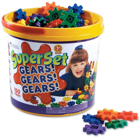 Learning Resources GEARS! GEARS! GEARS! SUPER SET - Bloxx Toys - Toronto Online Toys Store - 1
