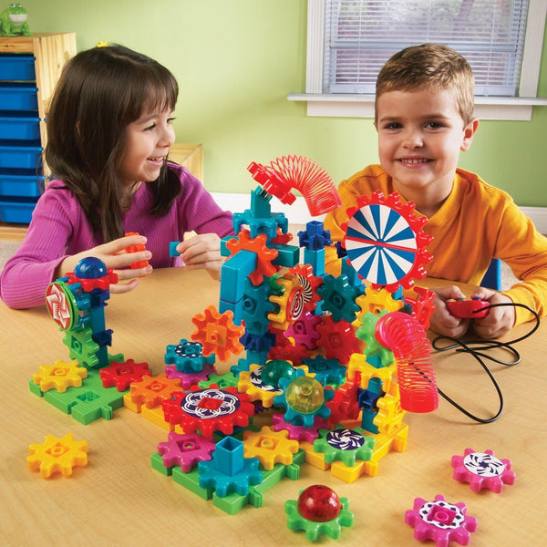 Learning Resources GEARS! GEARS! GEARS! LIGHTS & ACTION SET - Bloxx Toys - Toronto Online Toys Store - 3