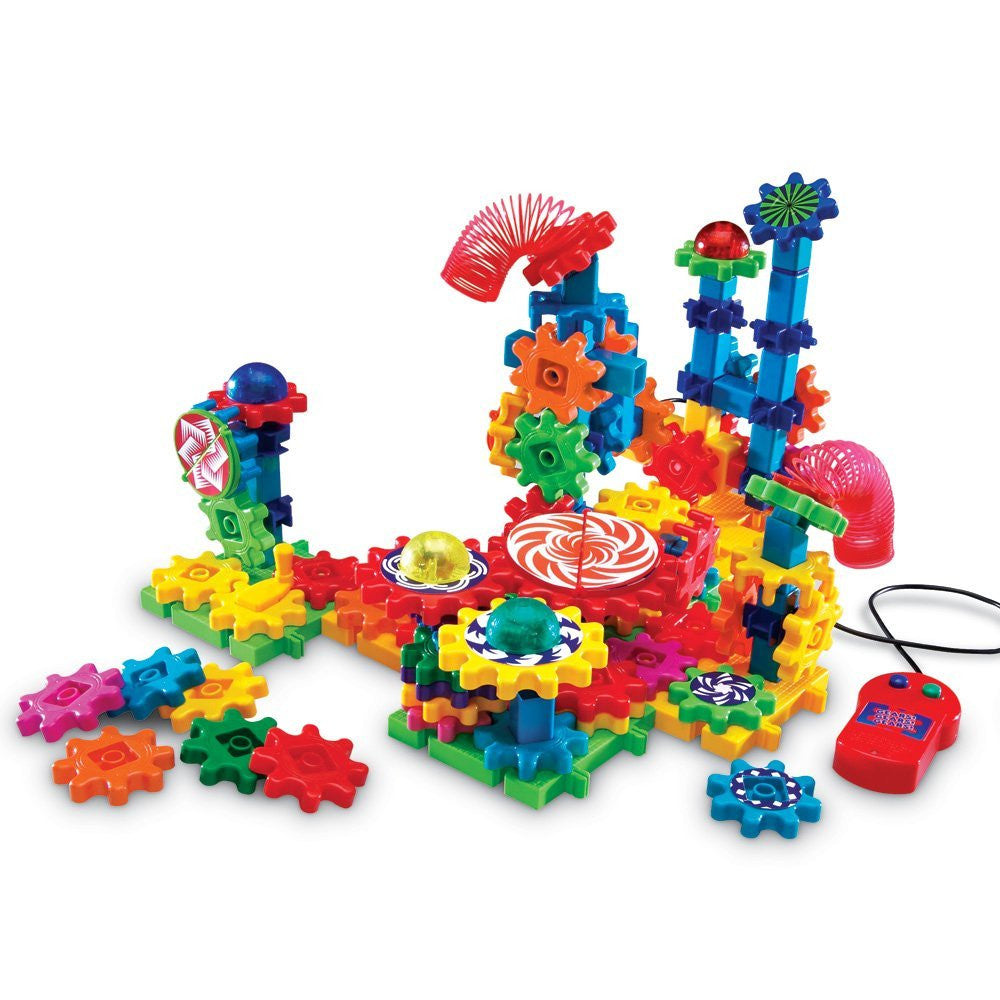 Learning Resources GEARS! GEARS! GEARS! LIGHTS & ACTION SET - Bloxx Toys - Toronto Online Toys Store - 1