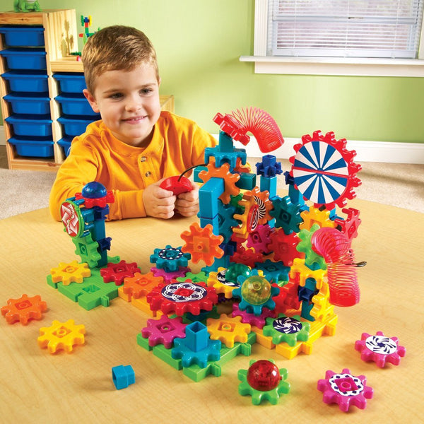 Learning Resources GEARS! GEARS! GEARS! LIGHTS & ACTION SET - Bloxx Toys - Toronto Online Toys Store - 5