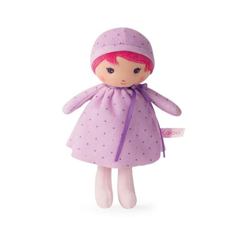 LISE Tendresse Soft small purple Doll Toy -By Kaloo Montreal
