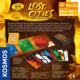 LOST CITIES - Card Game - Bloxx Toys - Toronto Online Toys Store - 2
