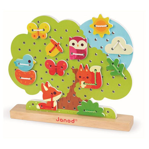 Lace-up Tree By Janod - Educational Toys - BloxxToys