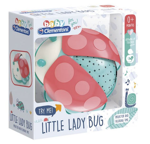 Ladybug First Month Projector By Clementoni - BloxxToys