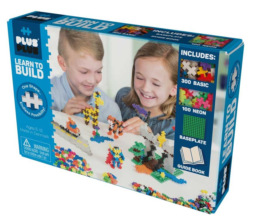 Learn To Build Building Blocks Mini Basic By Plus-Plus- Bloxx Toys - Toronto - Educational Online Toys Store Canada