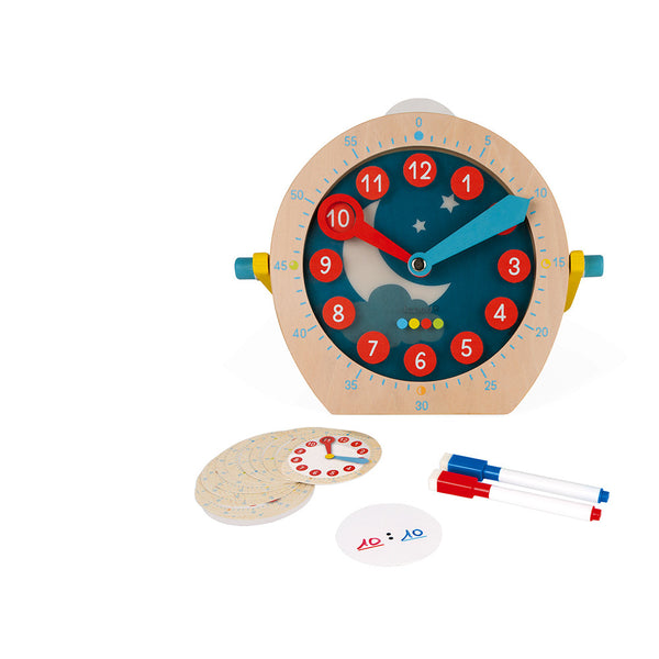 Learn to tell Time By Janod | Educational Toys Canada
