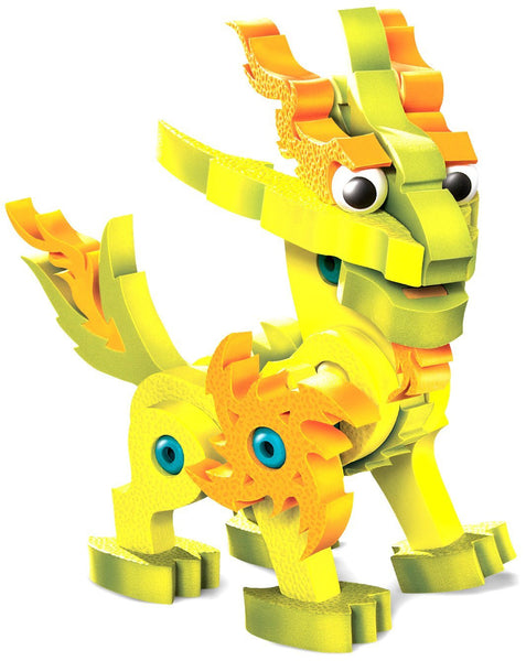 Lightnix Dragon of the Light Foam Blocks By Bloco - Bloxx Toys - Toronto Online Toys Store - 2