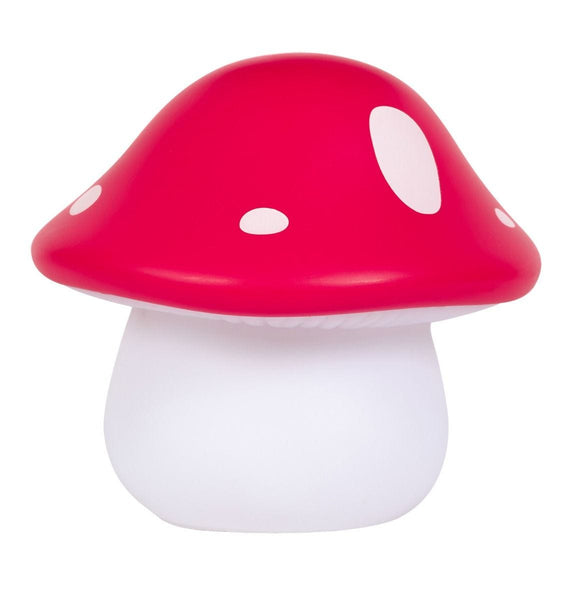 Little Light Mushroom Red By Little Lovely -Bloxx Toys-Toronto toys, toy, Canada, Autism Toys, Ontario toys, Quebec toys, Children Toys,Kids Toys,Educational toys, Online Toys Store Canada