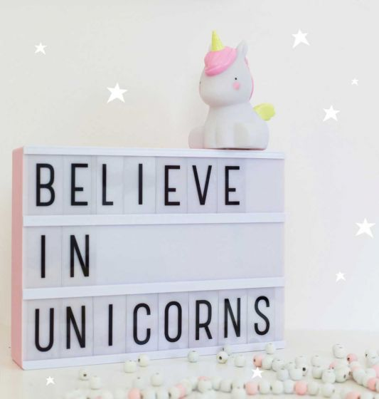 Little Light Unicorn Lamp By Little Lovely -Bloxx Toys-Toronto toys, toy, Canada, Autism Toys, Ontario toys, Quebec toys, Children Toys,Kids Toys,Educational toys, Online Toys Store Canada