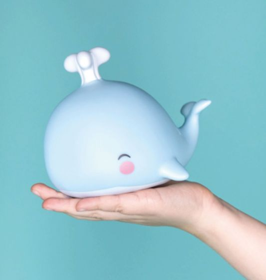Little Light Whale Blue By Little Lovely-Bloxx Toys-Toronto toys, toy, Canada, Decor, Room Decor, Autism Toys, Ontario toys, Quebec toys, Children Toys,Kids Toys,Educational toys, Online Toys Store Canada