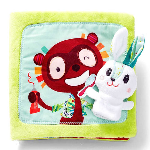 Little Rabbit Dentist Book - By Lilliputiens - BloxxToys Canada
