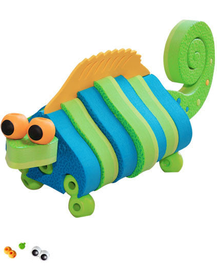 Lizards & Chameleons Foam Blocks By Bloco - Bloxx Toys - Toronto Online Toys Store - 5