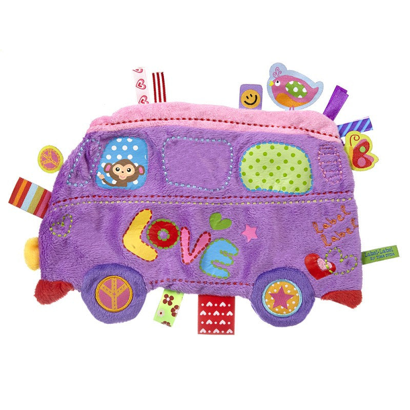Love Bus Sensory Blankets - Bloxx Toys - Toronto Canada Online Toys Store Baby Shop Products