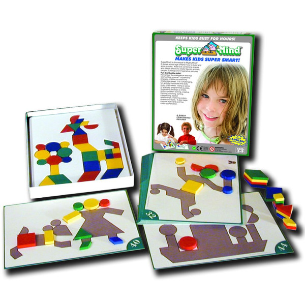Magnetic Super Mind Super Sequel Mosaic By Mighty Mind - Bloxx Toys - Toronto Online Toys Store - 1