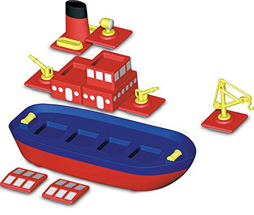 Magnetic Build-a-Boat by Popular Playthings - Bloxx Toys - Toronto Online Toys Store - 2