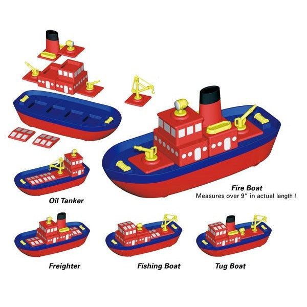 Magnetic Build-a-Boat by Popular Playthings - Bloxx Toys - Toronto Online Toys Store - 3