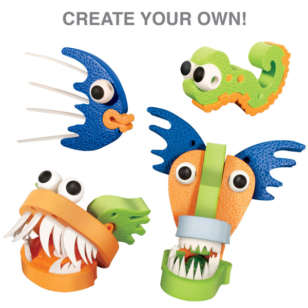 Marine Creatures Foam Blocks By Bloco - Bloxx Toys - Toronto Online Toys Store - 4