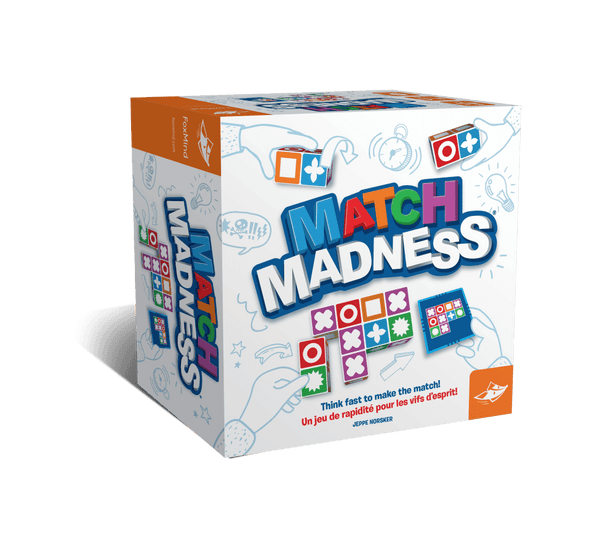 Match Madness Board Game By Foxmind | Family Games