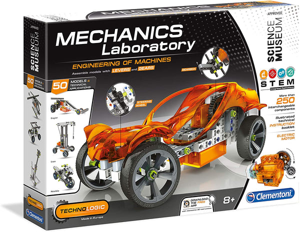 Mechanics Laboratory By Clementoni - BloxxToys Canada