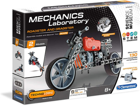Mechanics Laboratory Roadster & Dragster By Clementoni