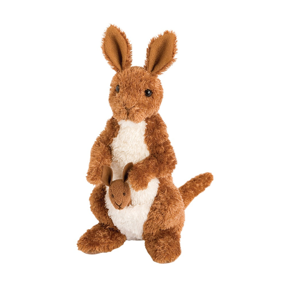 Melbourne Kangaroo with Joey by Douglas - BloxxToys Canada