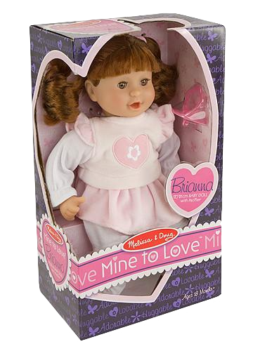 Baby Doll Brianna By Melissa & Doug - Bloxx Toys - Toronto Online Toys Store - 1