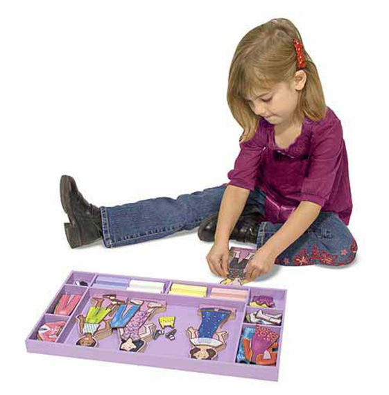 Best Friends Forever! Magnetic Dress-Up Set By Melissa & Doug - Bloxx Toys - Toronto Online Toys Store - 3