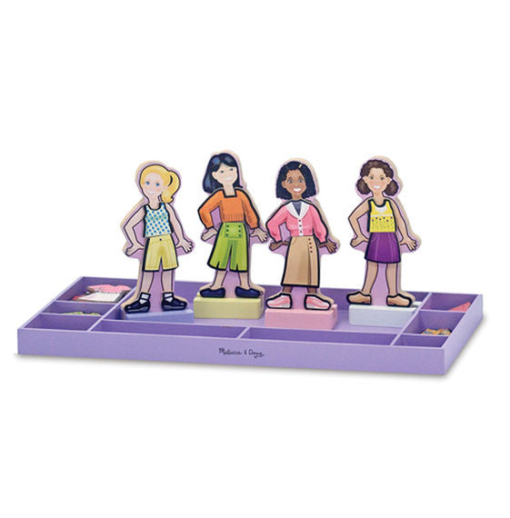 Best Friends Forever! Magnetic Dress-Up Set By Melissa & Doug - Bloxx Toys - Toronto Online Toys Store - 2