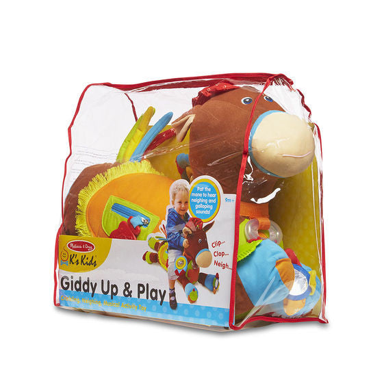 Giddy-Up & Play Activity Toy By Melissa & Doug - Bloxx Toys - Toronto Online Toys Store - 3