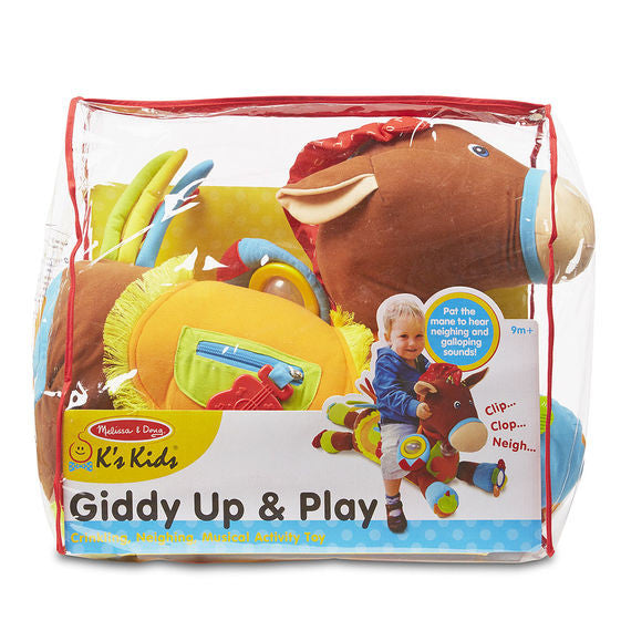 Giddy-Up & Play Activity Toy By Melissa & Doug - Bloxx Toys - Toronto Online Toys Store - 5