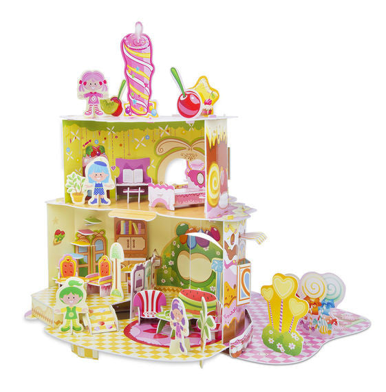 Home Sweet Home 3D Puzzle & Dollhouse In One By Melissa & Doug - Bloxx Toys - Toronto Online Toys Store - 4