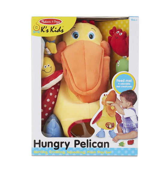 Hungry Pelican Baby Toddler Educational Toy By Melissa & Doug - Bloxx Toys - Toronto Online Toys Store - 2