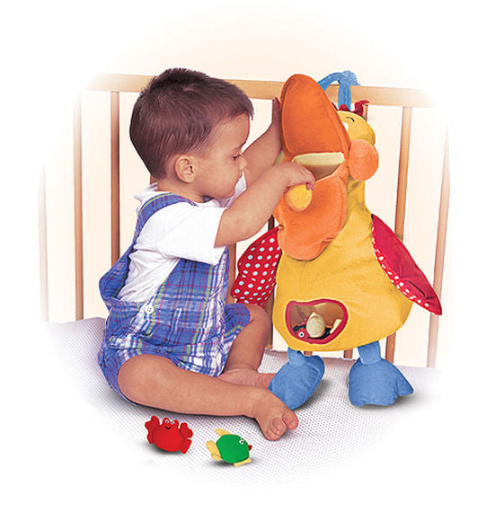 Hungry Pelican Baby Toddler Educational Toy By Melissa ...