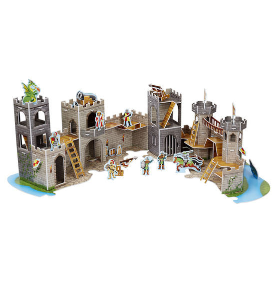 Medieval Castle 3D Puzzle and Play Set In One By Melissa & Doug - Bloxx Toys - Toronto Online Toys Store - 4