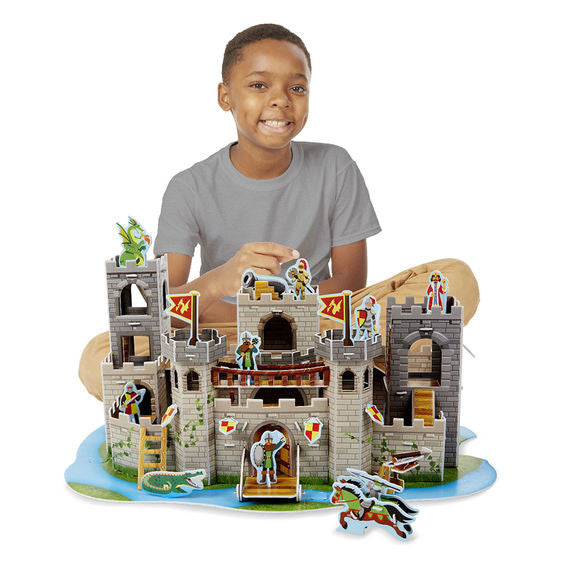 Medieval Castle 3D Puzzle and Play Set In One By Melissa & Doug - Bloxx Toys - Toronto Online Toys Store - 3